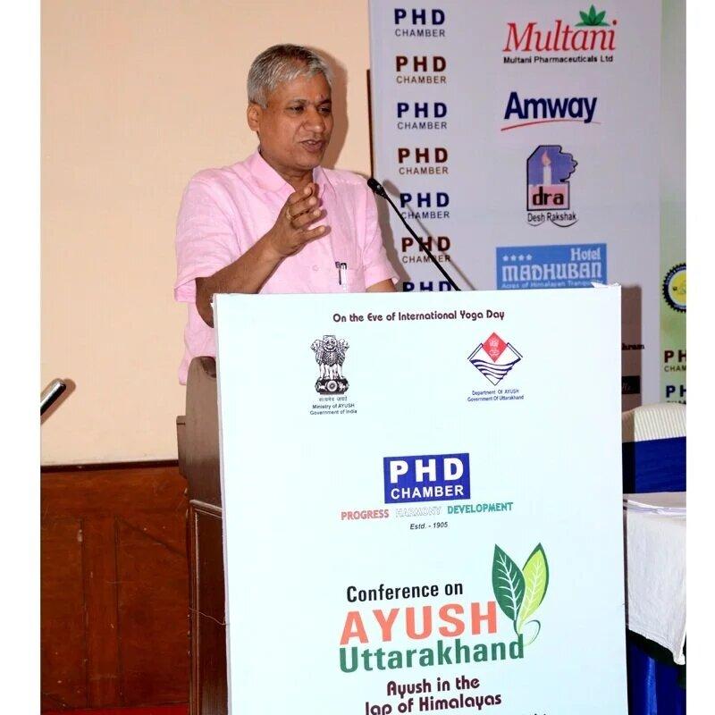 Public Speech in Arogyadham Ayurvedic Treatment Centre